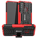 Bracevor Back Cover for Samsung Galaxy M31 Prime/M31/M21/ F41/M30s(TPU+Poly Carbonate/Red)