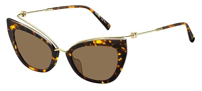 Gafas de Sol Max Mara MM Marilyn/G Havana Gold/Grey Mujer ...
