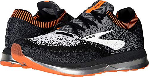 Brooks Men's Bedlam Black/Grey/Orange 10 D US