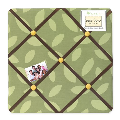 Jungle Time Fabric Memory/Memo Photo Bulletin Board by Sweet Jojo Designs