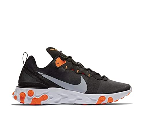 In Schwarzgrauorangeblack Element 55 Sneaker Nike React 8ywOn0Nvm