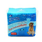 SENYE PET Disposable Male Wrap Dog Diaper,12Pcs (M)
