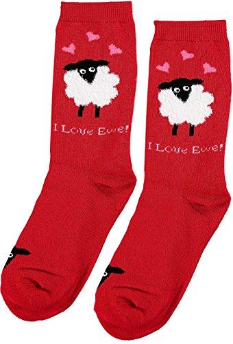 Womens Davco Women's Valentine's Day Socks