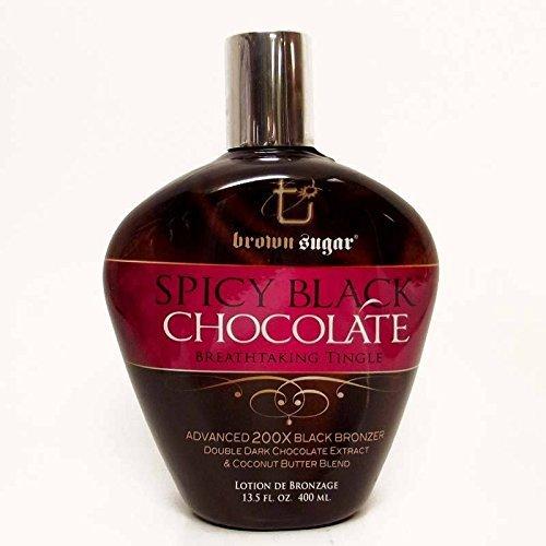 Brown Sugar SPICY BLACK CHOCOLATE Tingle Bronzer - 13.5 oz. (Bronzer Tingle)