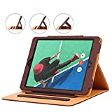 iPad 9.7 2017/2018 case - Leather Multiple Card