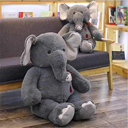 Bbq Giant Silver Trailer (LtrottedJ Long Nose Elephant Cushion Soft Plush Stuffed Animal Plush Toy)