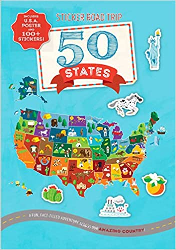 Sticker Road Trip: 50 States: Courtney Acampora, Sara Lynn ... on highway maps of wa states, alabama 55 states, tour the states, map of colorado and bordering states, the three most populous us states, midwest states, smallest to largest states, southern states, can texas divide into 5 states, hetalia states, most business friendly states, map of homeschool friendly states, blank us map color states, usa states, do you know your states, untied states, west states, map of arkansas and surrounding states, large us map showing states, 2014 european union member states,