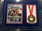 Shaun White Signed SPORTS ILLUSTRATED - Autographed Olympic GOLD MEDAL ITALY 2006 Turin Olympics BLACK CUSTOM FRAME - Certificate of Authenticity - PSA Certified