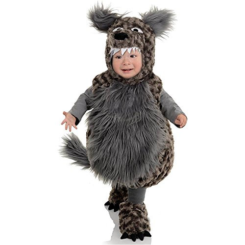 [Wolf Toddler Costume - X-Large] (Big Sister Little Sister Costumes)