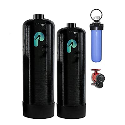 Pelican Water 20 GPM Whole House Water Filtration and NaturSoft Salt-Free Softener System