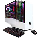 CYBERPOWERPC Gamer Supreme Liquid Cool SLC8960CPG Gaming PC (Intel i7-9700K 3.6GHz, 32GB DDR4, NVIDIA GeForce RTX 2070 8GB, 480GB SSD, 2TB HDD, WiFi & Win 10 Home) White