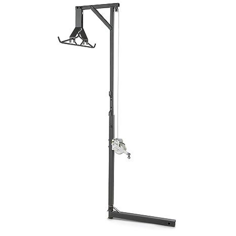 Guía Gear Deluxe sistema de elevación de enganche de ciervo de elevación y giratorio de Gambrel