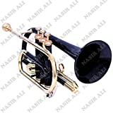 eMusicals Cornet Bb Pitch With Free Hard Case And Mouthpiece, Red Colored