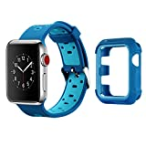 MAIRUI Compatible with Apple Watch Band Case 42mm