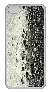 Customized iphone 5C PC Transparent Case - Stones 2 Personalized Cover