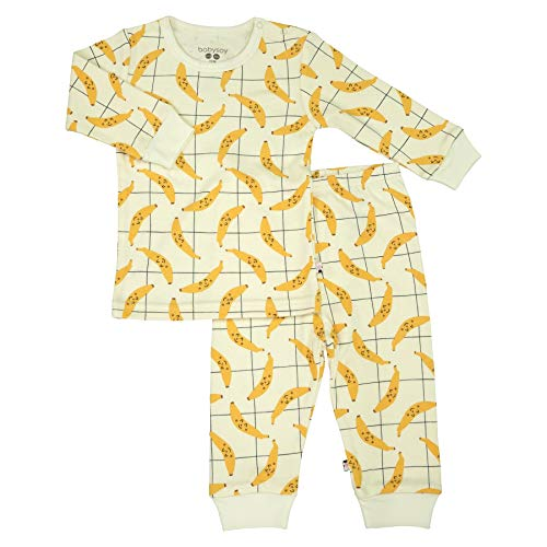 Organic 2-Piece PJ Playwear Sets for Baby and Toddler Babysoy Long Sleeve Unisex Lounge Set