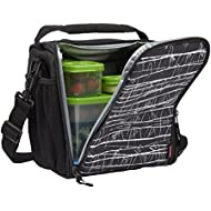Rubbermaid LunchBlox Lunch Bag, Medium, Black Etch 1813501