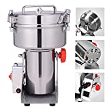 Suteck 1000g Grain Grinder Mill Powder Machine Swing Type Commercial Electric Grain Mill Grinder for Herb Pulverizer Food Grade Stainless Steel