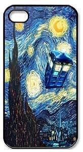 Shinhwa Create Tardis Doctor Who Starry Night Custom Hard Case for iphone 5c
