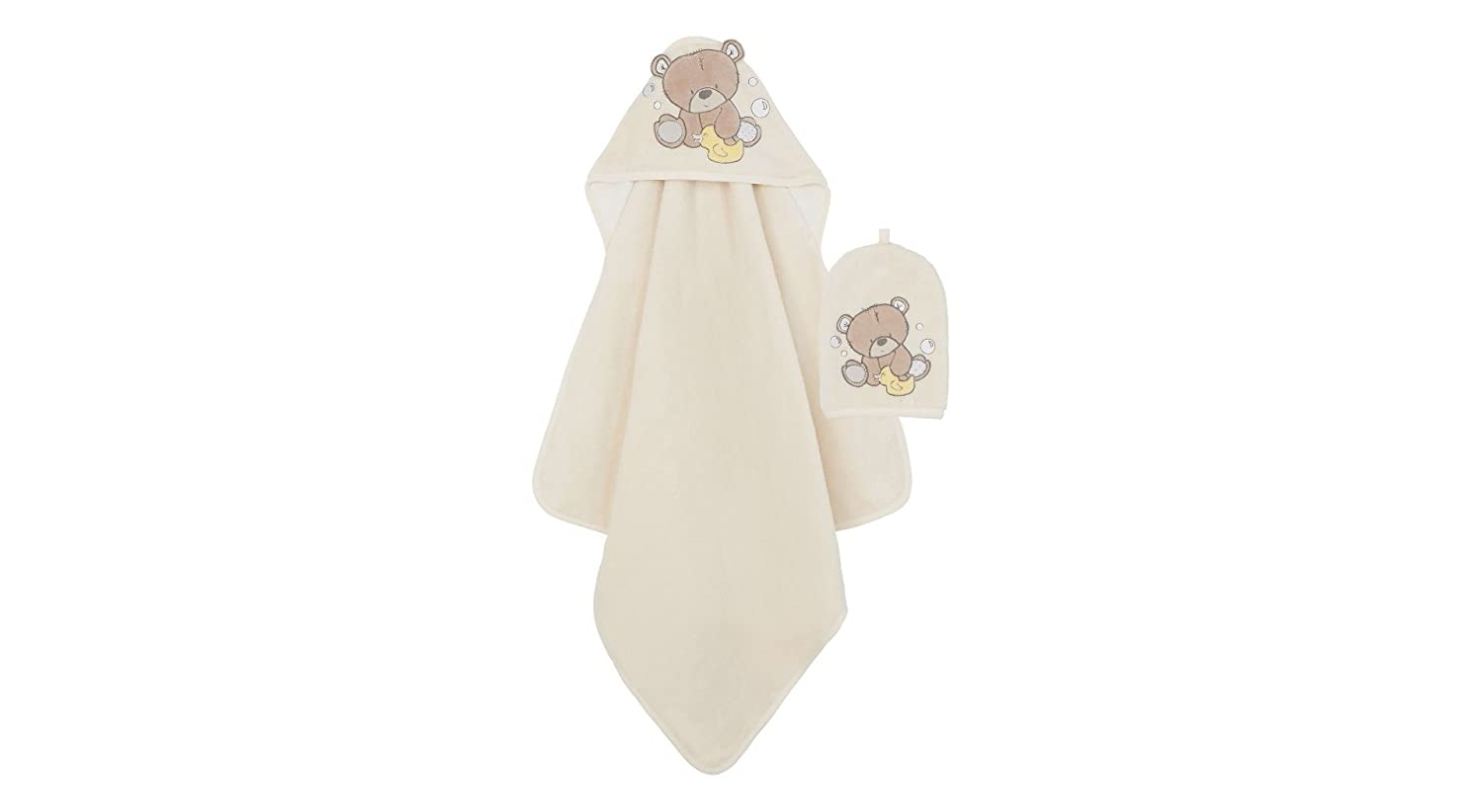 Mothercare Towel and Wash Mitt (Teddy's Toy Box/Cuddle 'n Dry) 796193