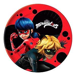 u0027Pack 10 Plates Party Marvelous Ladybug  sc 1 st  Amazon.com & Amazon.com: u0027Pack 10 Plates Party Marvelous Ladybug: Toys u0026 Games
