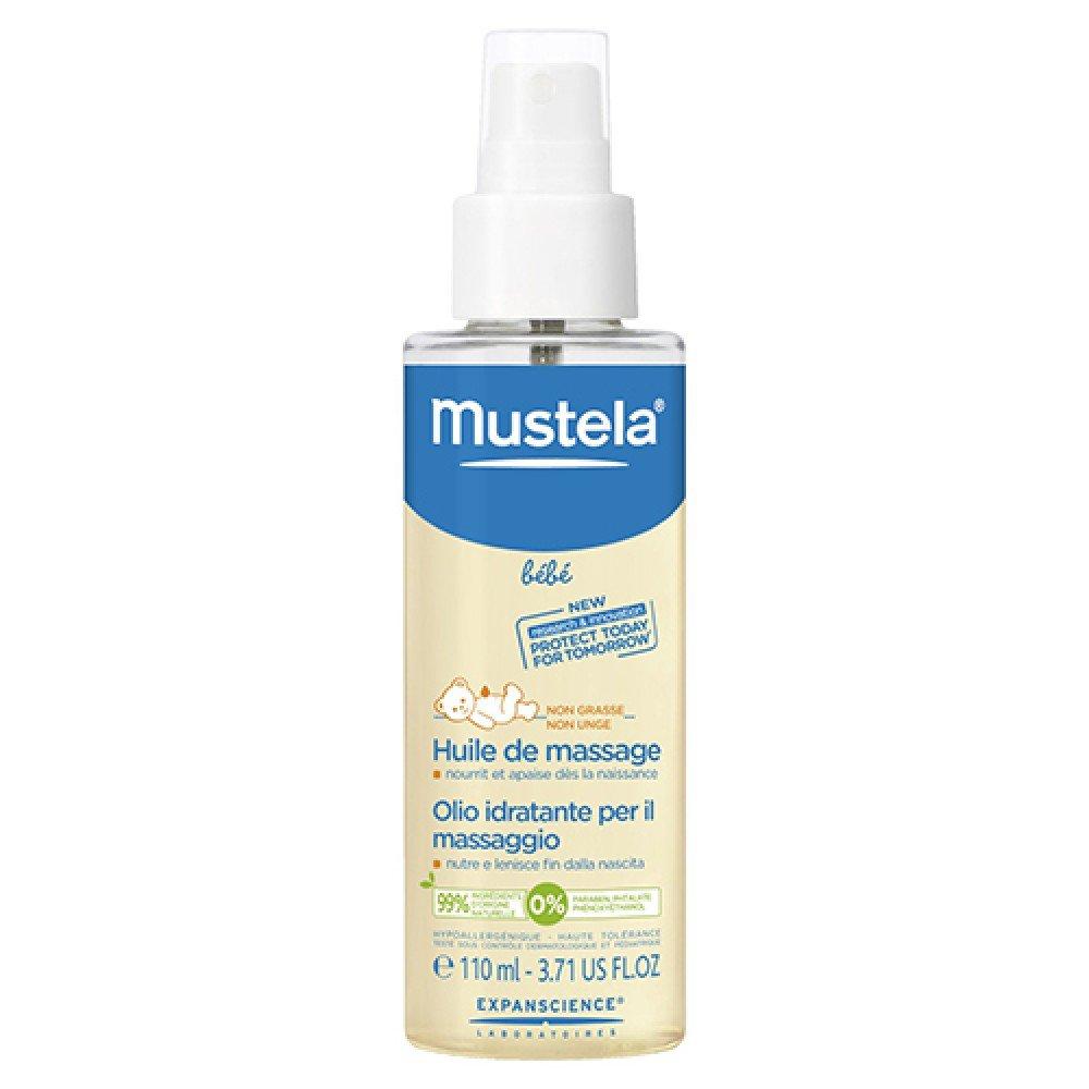 Mustela Bébé Huile de Massage Flacon Spray 110 ml Laboratoire Expanscience MTL00010