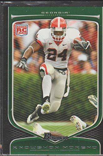 2009 Bowman Knowshon Moreno Broncos Rookie Football Card #116