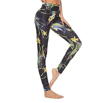 ZCJB Medias Deportivas Mujer Fitness Yoga Pantalones Mujeres ...