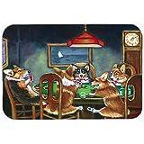 Caroline's Treasures Corgi Playing Poker Mouse Pad, Hot Pad or Trivet, Multicolor (7416MP)