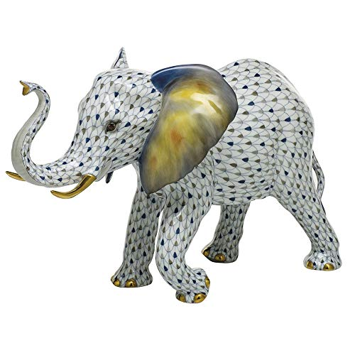 (Herend Elephant Porcelain Figurine Reserve)