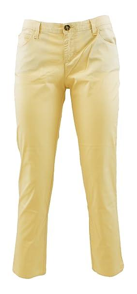 newest bbfb9 84044 ARMANI JEANS Pantaloni V5J90 Beige 29: Amazon.it: Abbigliamento