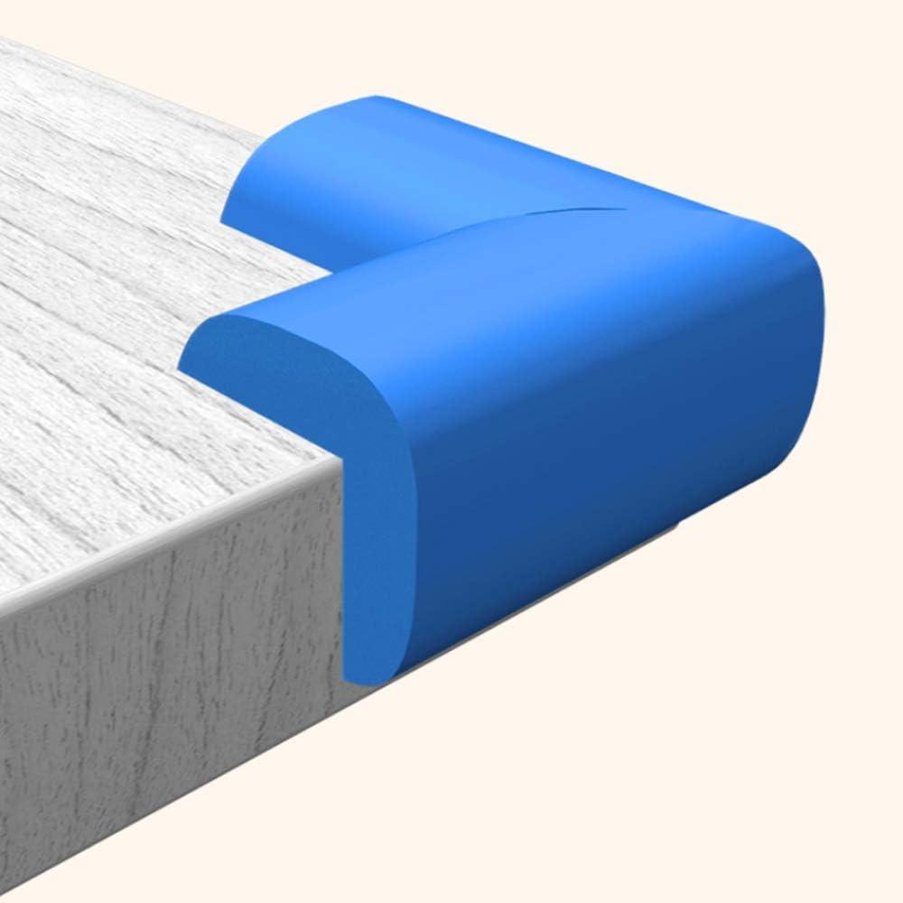 2.4inch*1.6inch*0.6inch Bunte Tisch-M/öbel-Eckenschutz f/ür Baby-Kinder mit weichem Schaumstoff Schaumstoff SANGDA Eckenschutz f/ür Kinder 10 St/ück Rose Sicherheitskantenschutz