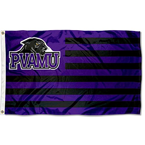 Company Prairie Star - Prairie View A&M Panthers Stars and Stripes Nation Flag