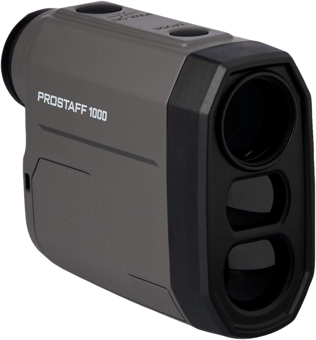Nikon Prostaff 1000 - Telémetro láser 5-910 Metros, Negro