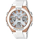 [カシオ]CASIO カシオ Baby-G ベビーG ベビージー レディース 高級ライン アナデジ 高機能 ホワイト 白 MSG-W100G-7AJF