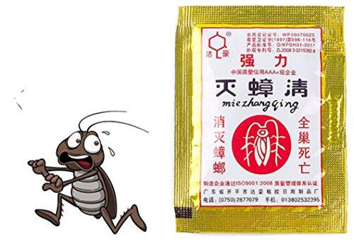 4pcs Powerful Cockroach Killing Bait Roach Catcher Kitchen Household Pest Control by Superjune