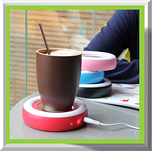 Beverage Warmer | USB Coffee/Tea Cup/Mug Warmer | Keep your Coffee or Tea drink warm for longer time by Ehome