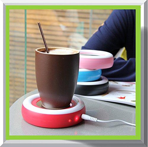 Price comparison product image USB Coffee / Tea Cup / Mug Warmer / Keep your Coffee or Tea drink warm for longer time (Black 5)