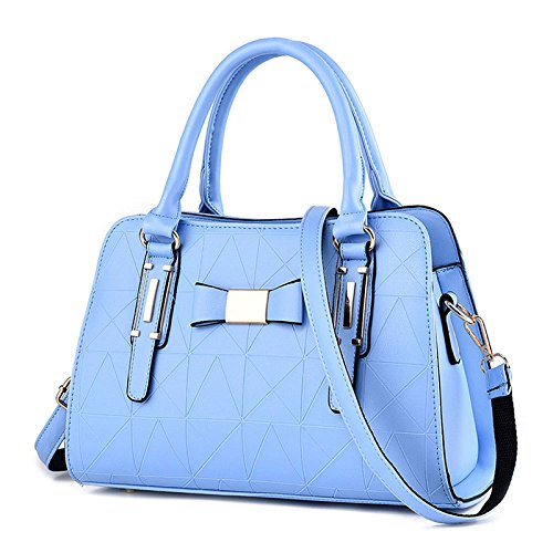 Leather Bag 2018 Middle Travel Lady Blue aged Shoulder New Bag Messenger Shopping PU Bag xTFUAx