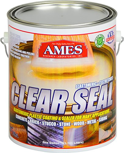 Ames CS1 1 Gallon Clear Seal Elastomeric Coating (Best Clear Roof Panels)
