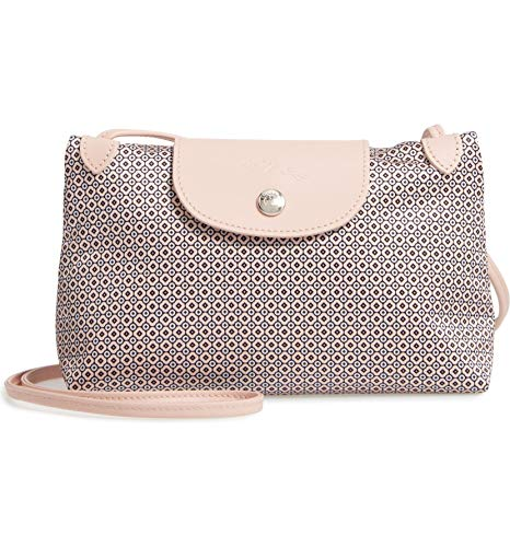 Longchamp Le Pliage Dandy Print Nylon Crossbody Bag Ivory