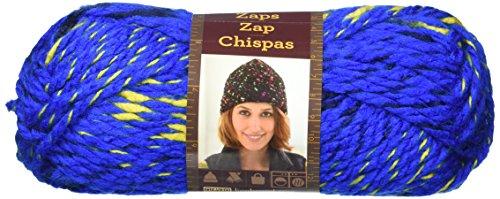 (Lion Brand Yarn 757-109 Zaps Yarn, Atomic Blue)