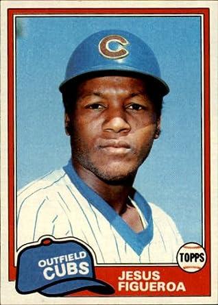 Amazoncom 1981 Topps Baseball Rookie Card 533 Jesus