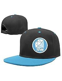 Hoicp Kid's The Diamond Minecart DAN TDM Adjustable Snapback Hip Hop Baseball Hat/Cap