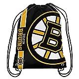 Official National Hockey League Fan Shop Authentic Drawstring NHL Back Sack (Boston Bruins)