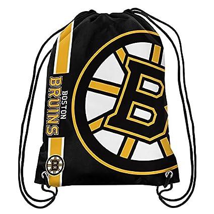 7d571489752a Official National Hockey League Fan Shop Authentic Drawstring NHL Back Sack  (Boston Bruins)