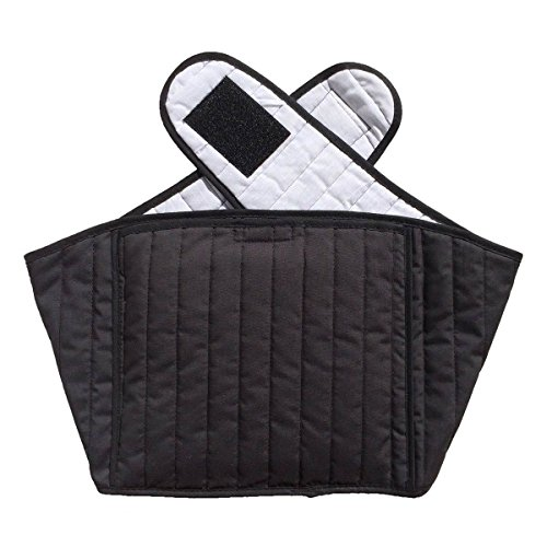 Hottles Quilted Cotton Back Wrap (Black)