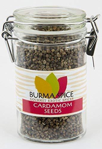 Cardamom Seeds : Whole : Indian Herb Spice : Kosher (2.6oz.) by Burma Spice (Image #4)
