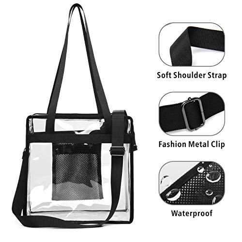 9a417b31deae Clear Tote Bag, Packism Clear Bag NFL Stadium Approved Transparent ...