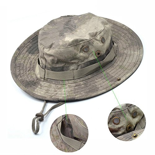 Generic Bluecell Tactical Head Wear/Boonie Hat Cap For Wargame,Sports,Fishing &Outdoor Activties (Acu (Zookeeper Costume)